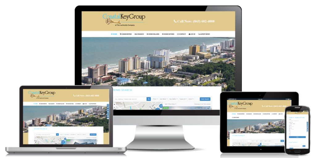 Real Estate Website Design by Marketing Provisions