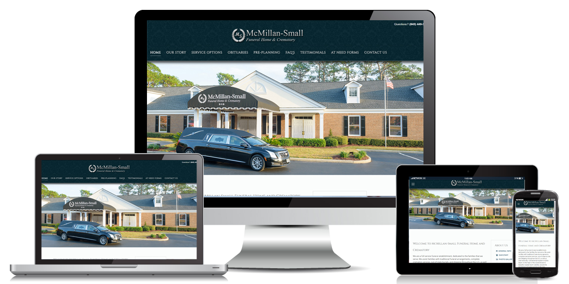 McMillan-Small Funeral Home – Web Design