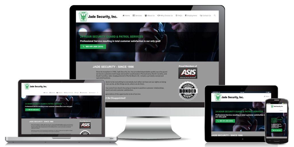 Contractor Website Design Jade-Security