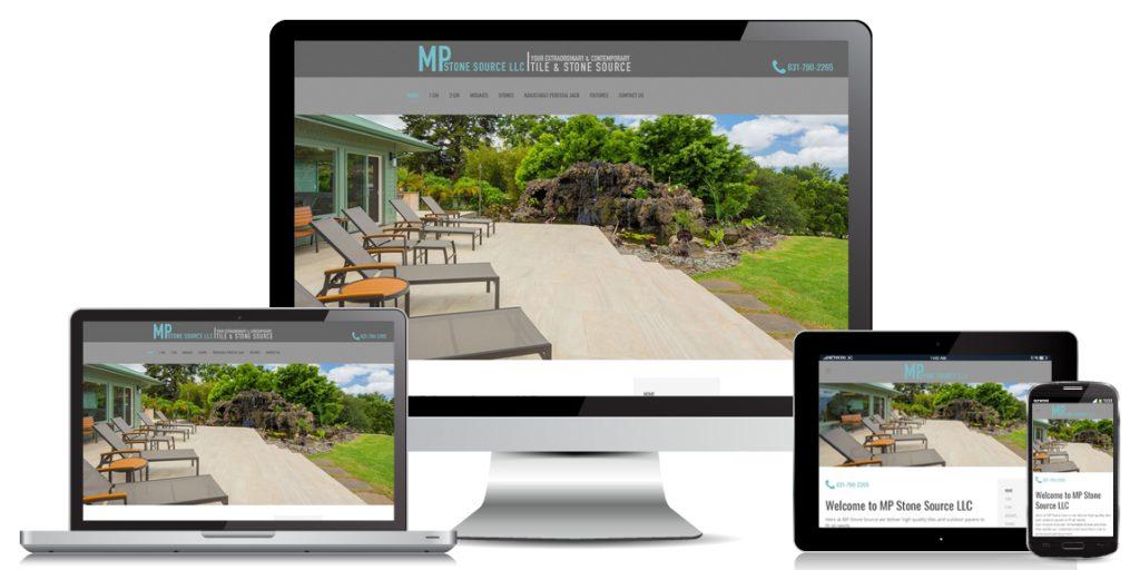 Contractor Website Design MP Stone Source