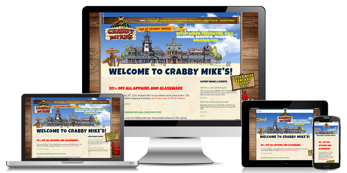 Restaurant Website Design by Marketing Provisions