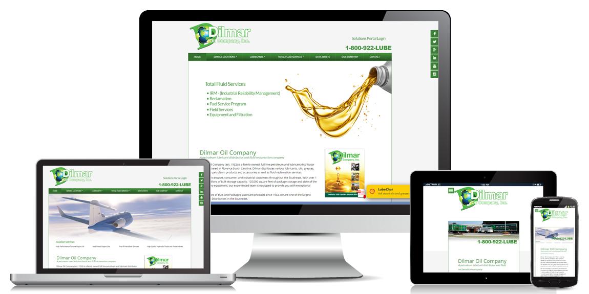 Dilmar Oil – Manufacturer Web Design