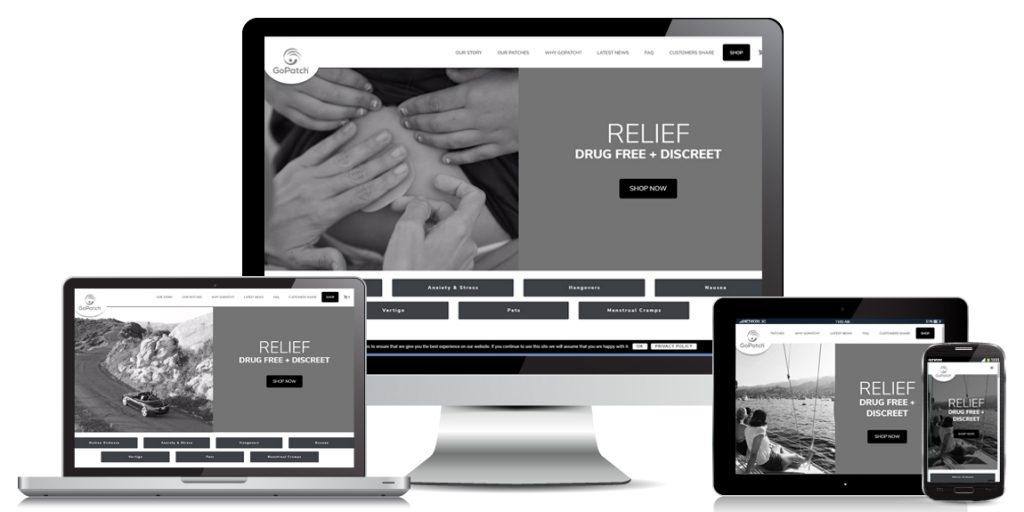 e-Commerce Website Design - GoPatch