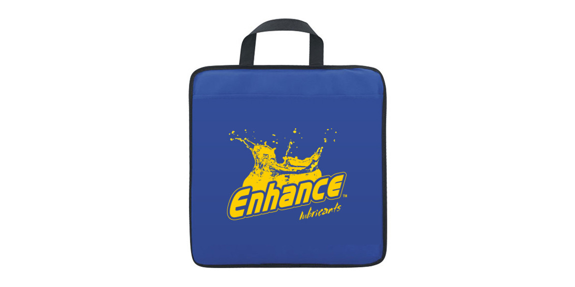 Enhance Oil Stadium Cushion designed by Marketing Provisions