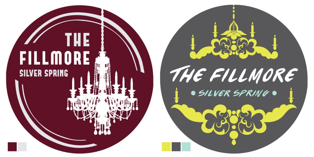Round Stickers for The Fillmore Silver Spring