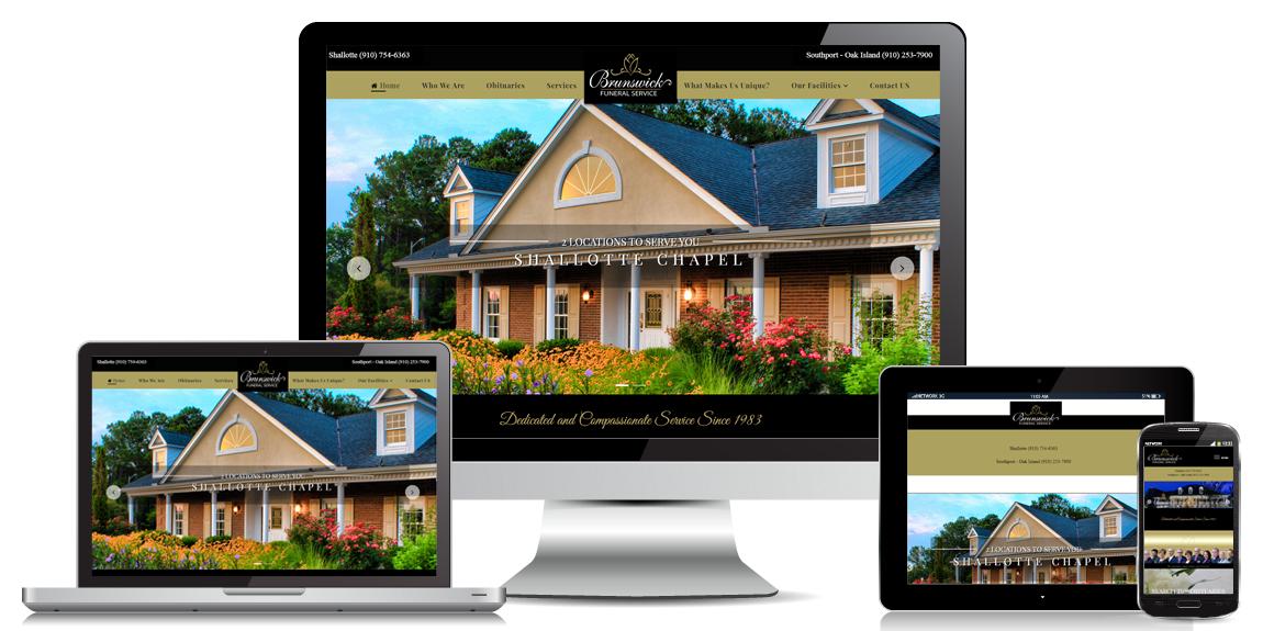 Funeral Home Website Design Brunswick