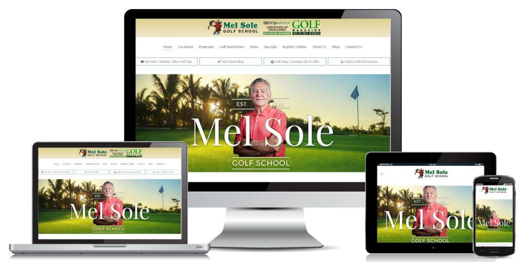 Leisure Ecommerce Website Design Mel Sole