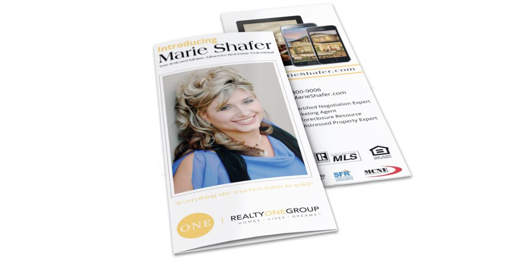 Tri-Fold Brochures for Real Estate Agent