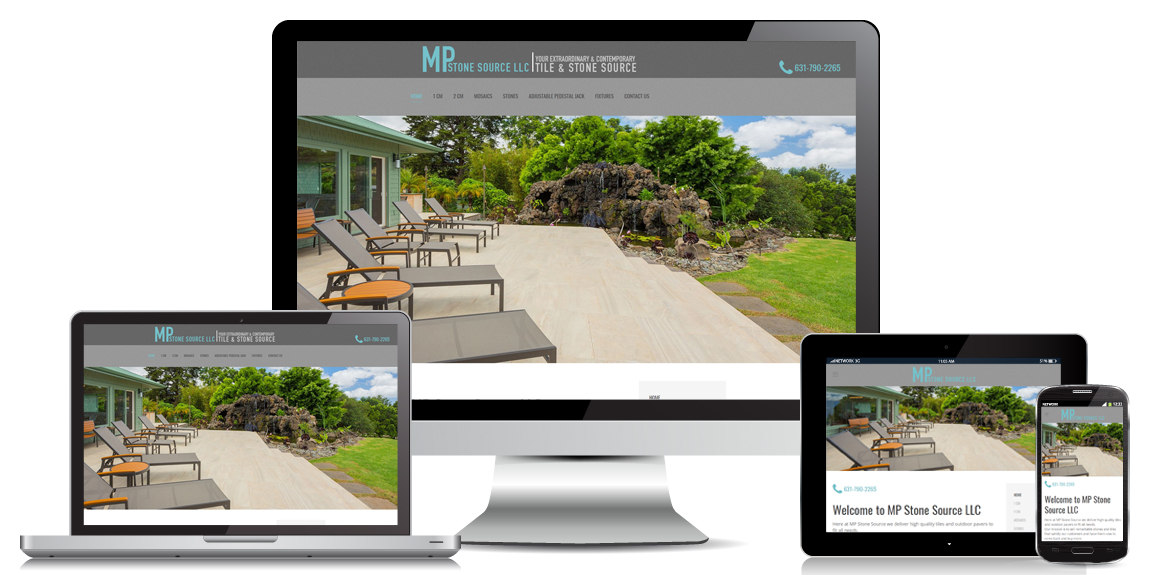 MP Stone Source – Contractor Web Design