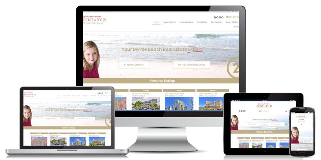 Real Estate Website Design - Lori Lentz-Widner