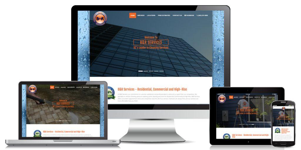Contractor Website Design - B & R Services