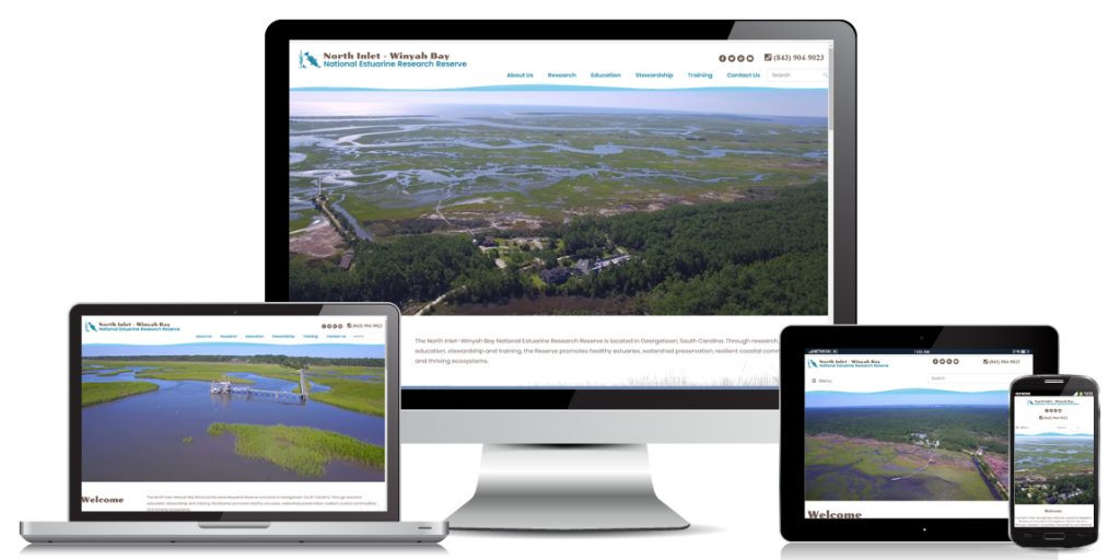 Education Website Design North Inlet Winyah Bay