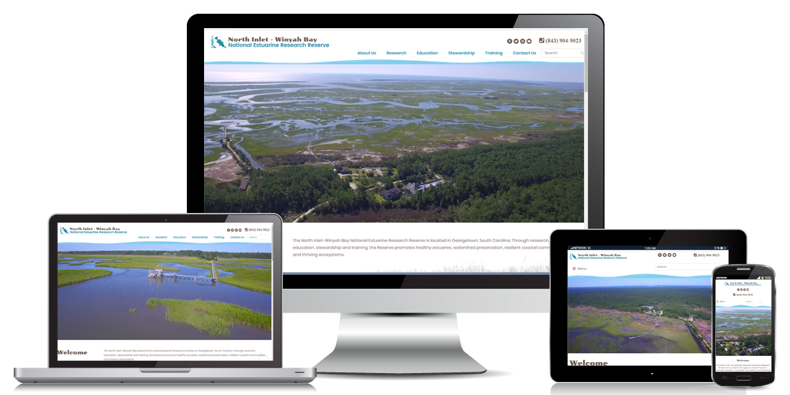 Education Website Design North Inlet Winyah Bay