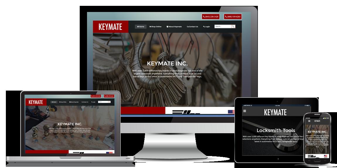 e-Commerce Website Design - Keymate