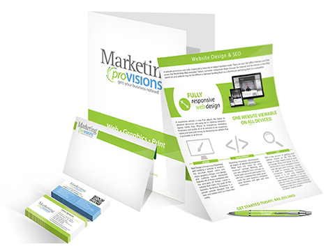 Print Collateral for Marketing Provisions