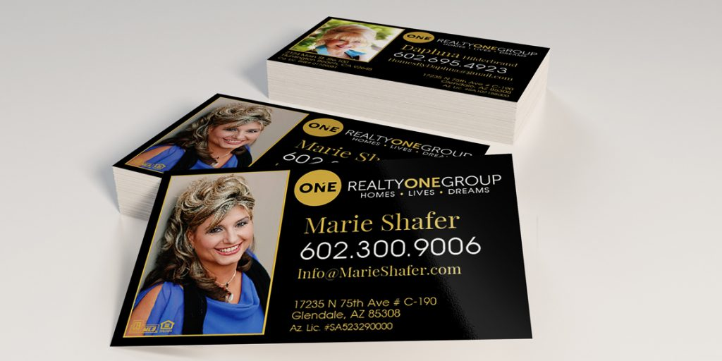 Business Cards for Real Estate Team