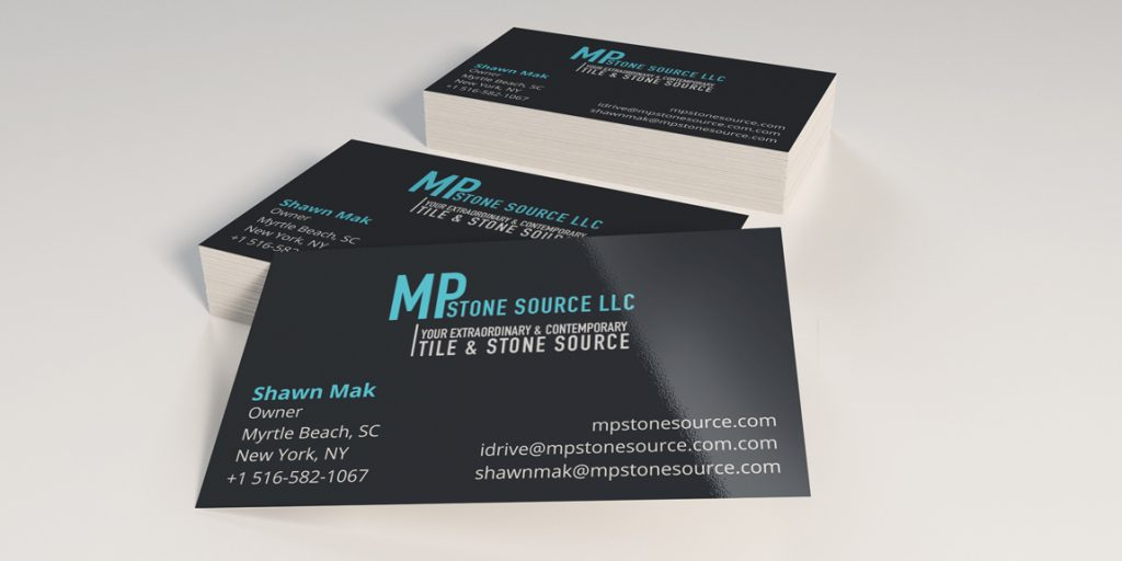 Business Cards for MP Stone Source