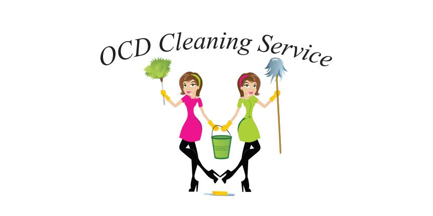Logo Design for OCD Cleaning