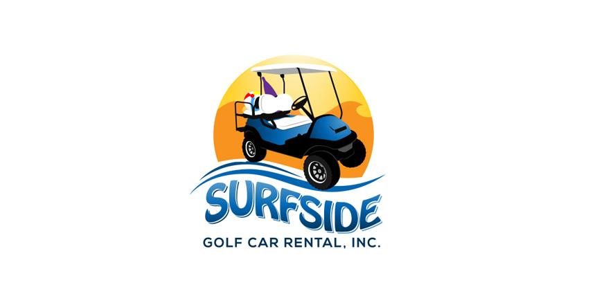 Logo Design for Surfside Golf Carts