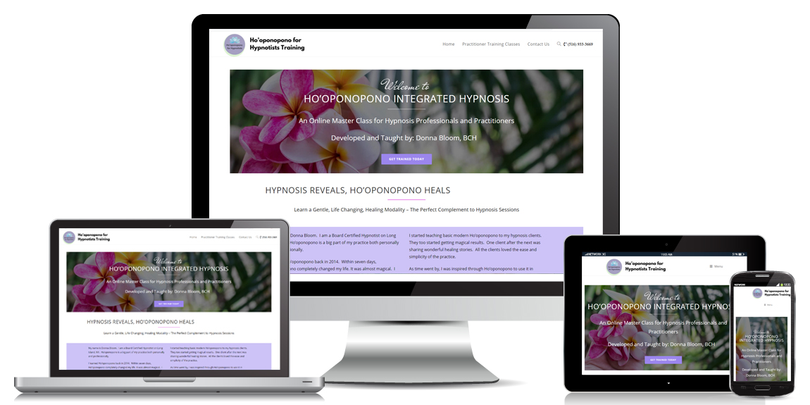 Read more about the article Health & Wellness Web Design – Ho'oponopono Hypnosis